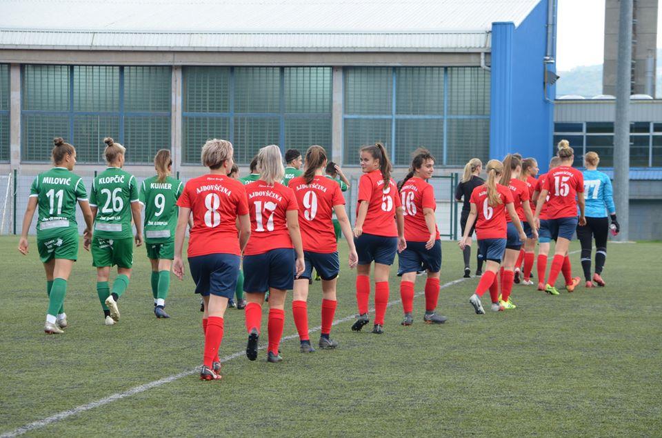 FOTO: Dekleta ND Primorje